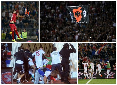 Federaţia albaneză contestă decizia UEFA de a-i acorda Serbiei victoria la meciul din 14 octombrie