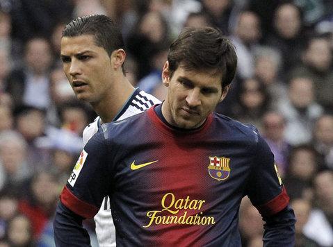 Messi şi Ronaldo nu se aşteptau la aşa ceva. Cele două vedete nu reuşesc să umple Old Trafford
