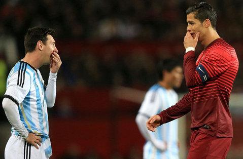 VIDEO   Înfruntarea titanilor. Cum a decurs întâlnirea de gradul 0 dintre Messi şi Ronaldo