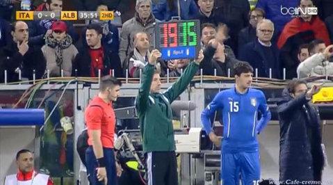 Francesco Acerbi a debutat la naţionala Italiei după ce a învins cancerul de două ori