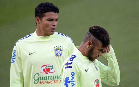 Neymar i-a cedat banderola de căpitan lui Thiago Silva. Ce spune Dunga despre tensiunile din jurul banderolei
