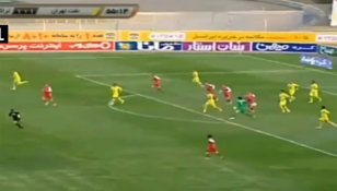 VIDEO | Portarul care aruncă mingea 50 de metri. Fază nebună în prima ligă din Iran