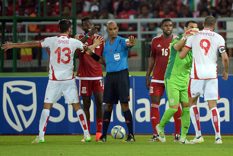 Arbitrul meciului Tunisia - Guineea Ecuatorială, suspendat şase luni