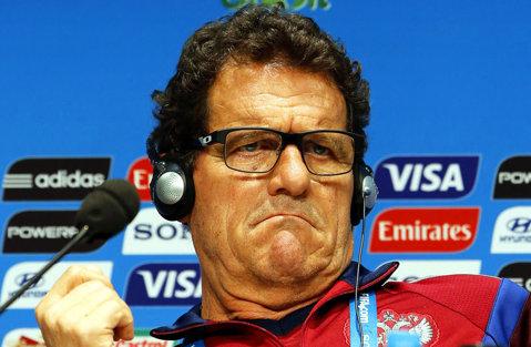 Unul dintre acţionarii lui Arsenal i-a plătit restanţele lui Fabio Capello. Federaţia rusă are probleme financiare şi risca sancţiuni dacă nu-şi plătea antrenorul