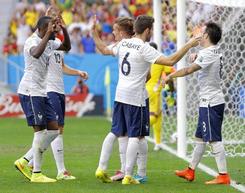Franţa a învins Danemarca, scor 2-0, într-un meci amical