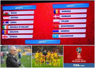 LIVE BLOG | Grupă infernală pentru România în preliminariile CM Rusia 2018. Ne duelăm cu Danemarca, Polonia, Muntenegru, Armenia şi Kazahstan
