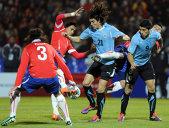 Edinson Cavani a fost suspendat două meciuri după eliminarea din partida cu Chile de la Copa America