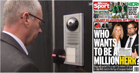Kloppisteria în Anglia. Jurnaliştii englezi i-au luat interviu prin interfon VIDEO | Prima glumă făcută de noul manager de la Liverpool