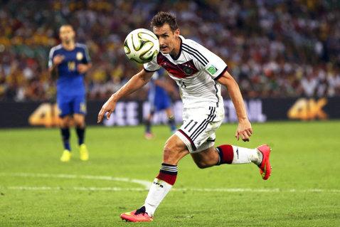 Miroslav Klose se va retrage din activitate în luna iunie
