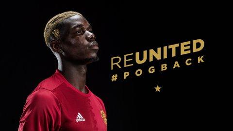 Pogba îl detronează pe Marco Reus. Noua imagine a jocului FIFA 18 va fi mijlocaşul lui United