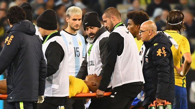 Gabriel Jesus a suferit o fractură a orbitei oculare în meciul Brazilia - Argentina 0-1
