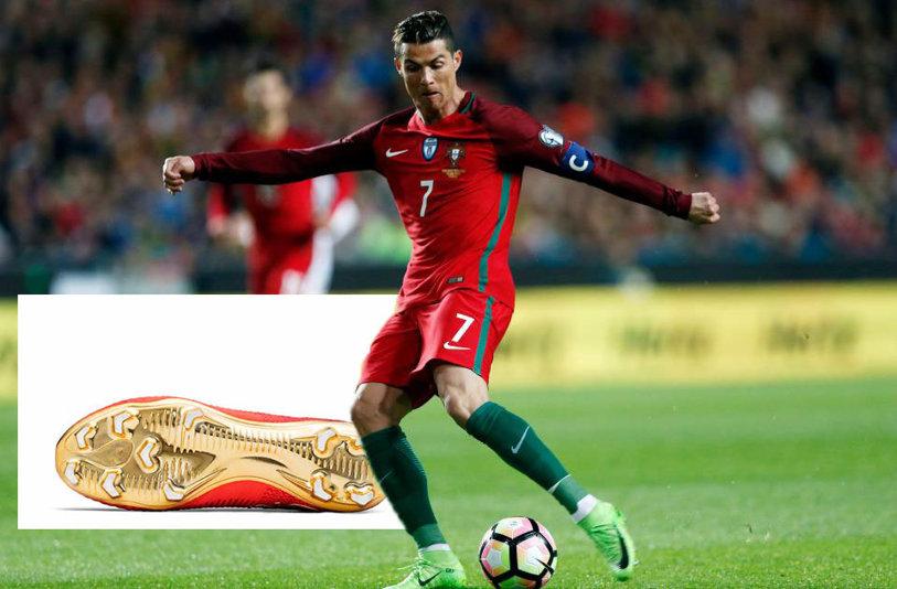 Cristiano Ronaldo atacă un nou trofeu cu o pereche senzaţională de ghete ce nu vor fi puse în vânzare! SUPER FOTO | Modelul de colecţie pentru starul Portugaliei