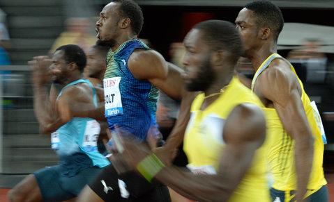 Bolt a preferat la Ostrava proba de 200 m. Asafa Powell s-a impus la 100 m