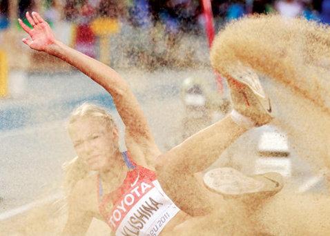 Imaginea cu care rusoaica Darya Klishina a pus pe jar atletismul mondial