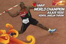 YE-GOld, (y)e de necrezut. Povestea zilei la CM de atletism: Yego, kenyanul campion mondial la suliţă, a ajuns pe podiumul all-time al probei urmărind filme de pe Youtube