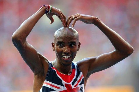 Mo Farah a câştigat titlul mondial la 5.000 m şi a reuşit a cincea dublă din carieră