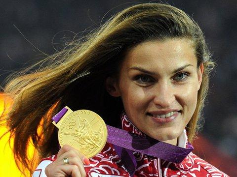 Şoc în sportul mondial. Atleta Anna Chicerova, campioană olimpică la înălţime, depistată pozitiv!