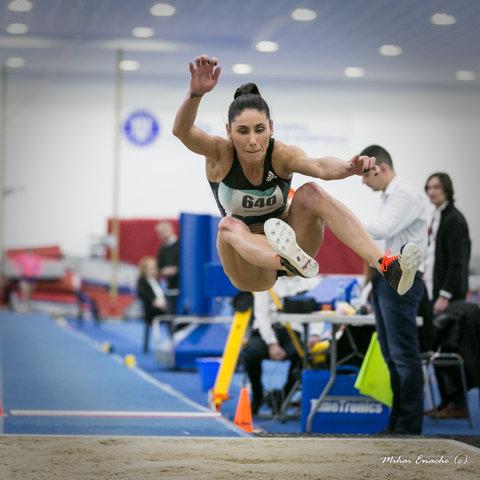 Angela merge mai departe. Moroşanu a schimbat proba şi este noua campioană naţională la lungime, cu 6,56 metri