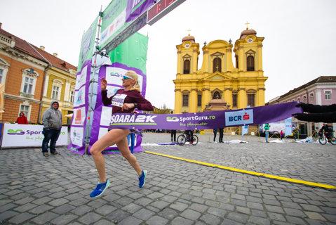 Ancuţa Bobocel a câştigat semimaratonul de la Timişoara