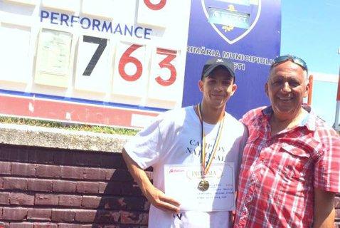 Samuel Bucşă, noul puşti minune al atletismului românesc. Tânărul de 17 ani a corectat recordul naţional de juniori 2 la lungime stabilit de Bogdan Tudor în urmă cu 30 de ani!