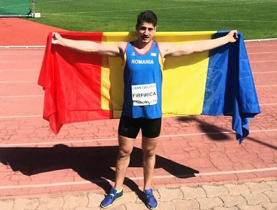 Alin Firfirică – vicecampion european U23 la atletism în proba de aruncare a discului