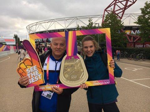 PERFORMANŢĂ | Alina Rotaru s-a calificat, în premieră, în finala Campionatului Mondial de atletism, la lungime. A sărit cât liderul mondial pe 2017 într-un concurs de calificare disputat pe ploaie