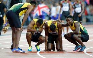 DUREREA ZEULUI | Cronica ultimei curse a lui Usain Bolt. Cursa de câţiva paşi. Marea Britanie a luat aurul la 4x100 m