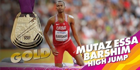 """Qatar Airways"". Mutaz Essa Barshim, aur la săritura în înălţime. Un sirian a luat bronzul! Recordul lui Sotomayor rezistă"