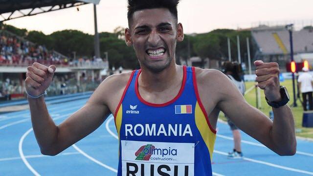 Atletul român Andrei Dorin Rusu a câştigat proba de 1.500 de metri la Meetingul indoor de la Bratislava