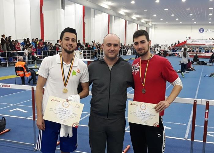 Braşoveanul Iulian Cristian Staicu a dat lovitura la Naţionale indoor de atletism: 8,09 metri la lungime, rezultat de top mondial