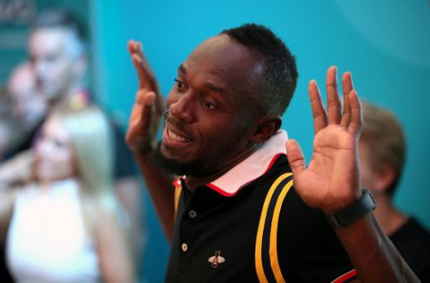 Tot Bolt face show-ul şi după retragere. Usain a ieşit la rampă după rezultatul-surpriză din finala de la suta de metri, la Jocurile Commonwealth
