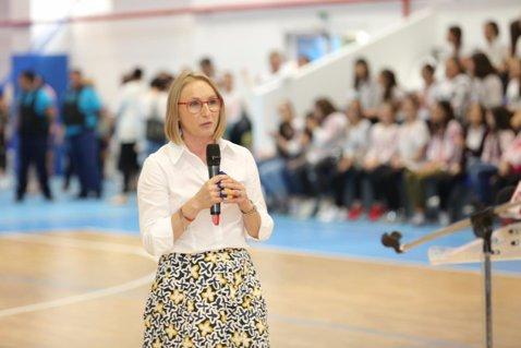 GALERIE FOTO | Gabriela Szabo, sală de nota 10, în Voluntari. Ce sporturi se pot practica în arena ultramodernă