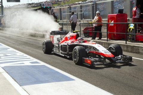 IPOTEZĂ | I-au cedat frânele lui Jules Bianchi în momentele ce au precedat ieşirea în decor de la Suzuka?