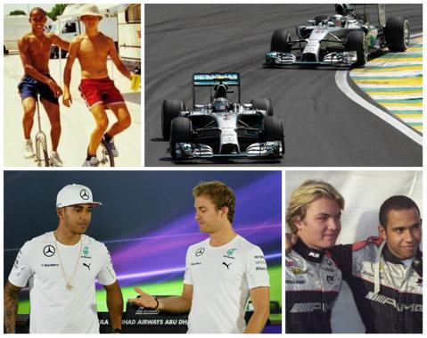 FORMULA 1 | Prieteni şi rivali. Destinele lui Rosberg şi Hamilton s-au unit încă din anii 2000. Cum au crescut cei doi piloţi şi s-au motivat reciproc. Cine câştigă titlul?