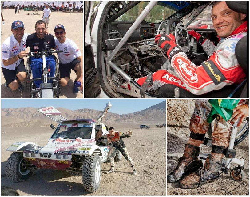 Eroul Raliului Dakar. Povestea primului sportiv paraplegic care termină cel mai dur rally-raid din lume