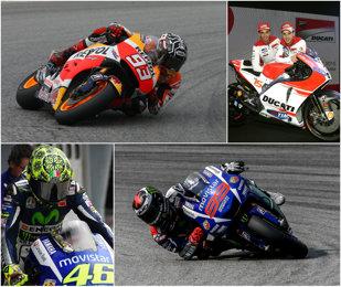 """VIDEO   A început sezonul 2015 în MotoGP. Wonderkid-ul Marquez e principalul favorit, însă Pedrosa, Lorenzo şi Rossi vor victoria încă din Qatar. Vine surpriza de la Ducati? Robi Mureşan: """"Eu mizez tot pe Marquez"""""""
