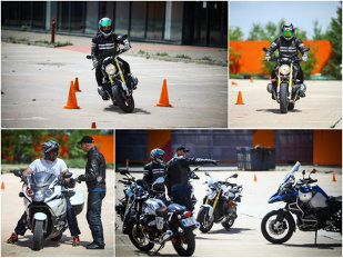 Motocicleta mai are secrete faţă de tine? Află la RideX, cu un curs gratuit de pilotaj defensiv. ProSport a parcurs poligonul în şaua unui BMW R nineT