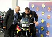 FOTO | Dotări speciale pentru SMURD. Serviciul de intervenţie va avea 7 motociclete BMW F700 GS