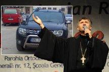 FOTO INCREDIBIL | Ce număr şi-a putut pune la maşină acest preot din România! Este UNIC în ţară