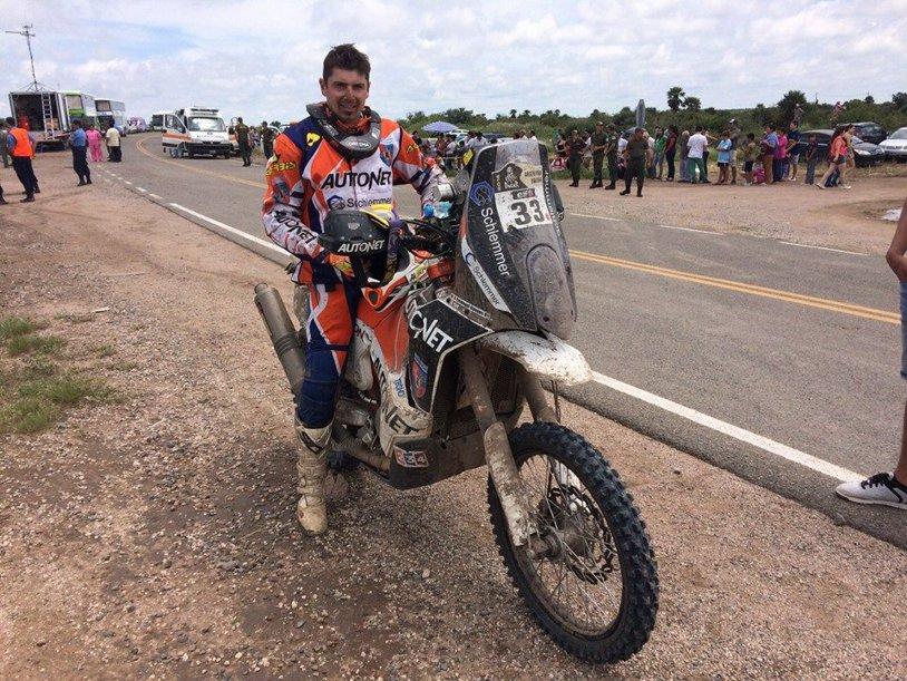 Românul Emanuel Gyenes a sosit al 30-lea în etapa a cincea din raliul Dakar