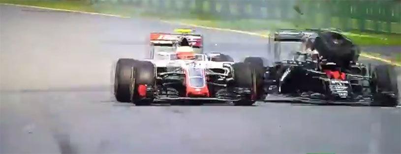 VIDEO | Prima cursă, primul accident serios: Alonso şi-a distrus maşina! Rosberg a câştigat marele premiu al Australiei