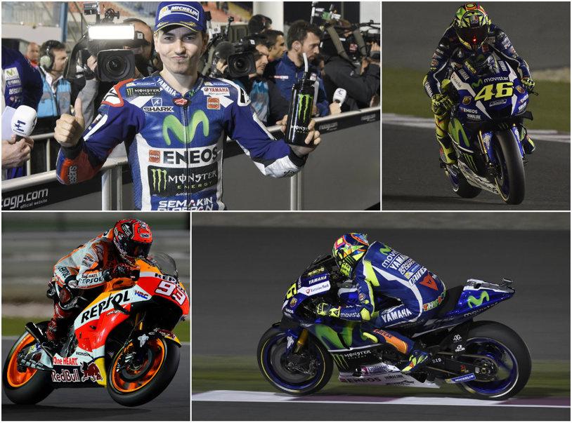 Jorge Lorenzo câştigă prima cursă a sezonului în MotoGP! Dovizioso şi Marquez pe podium, Rossi a venit pe locul patru