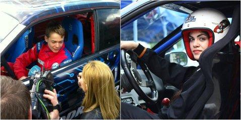Cei mai tineri piloţi profesionişti de drift din Europa concurează în week-end pe circuitul de la Prejmer