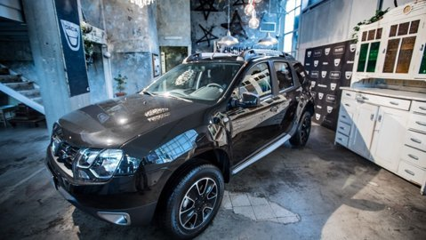 FOTO   Dacia lansează versiunea Shinny Black a Duster