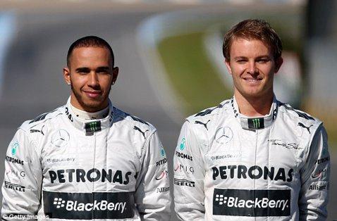 """Mercedes i-a găsit înlocuitor lui Rosberg. Cine vine lângă Hamilton din 2017: """"Este un pilot pe care îl respect foarte mult"""""""