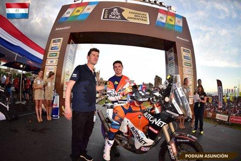 """Emanuel Gyenes, după ce a terminat pe 28 a doua etapă din Raliul Dakar: """"Traseul mi-a plăcut foarte mult. Căldura a fost singura problemă"""""""
