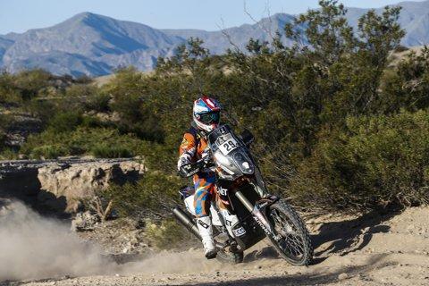 Mani Gyenes intră în Bolivia de pe locul 22 la general. Povestea etapei a 3-a în Dakar 2017