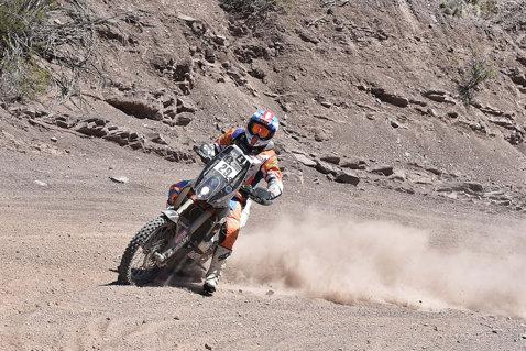 Mani Gyenes, pe locul 15 în cea mai grea specială din Dakar 2017. Rezultatul a venit după un concurs la temperatură de 45 de grade Celsius