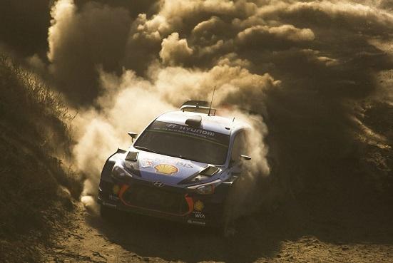 Hyundai Motorsport a terminat pe podium în Raliul Sardiniei, etapă a şaptea din CM de Raliuri