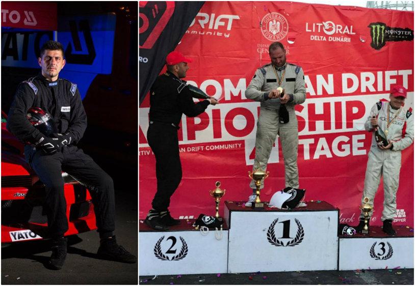 Traian Buşe relansează lupta pentru titlu în Campionatul Naţional de Drift: cum arată clasamentul general înaintea ultimei etape